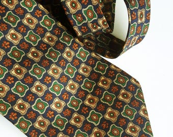 Vintage Allan Carlton silk tie