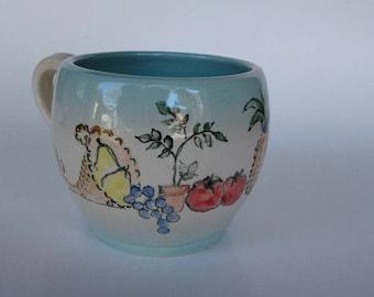 Fruit and veggie mug