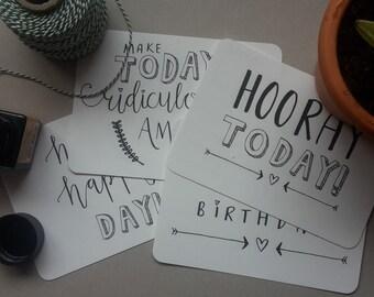 Cardset Happy Happy Birthday