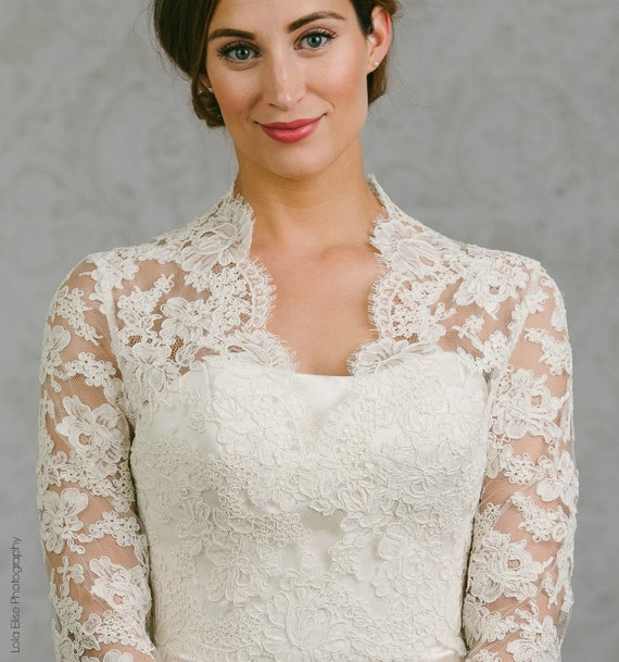 Long Sleeve Wedding Gown Topper Wedding Gown Topper Long
