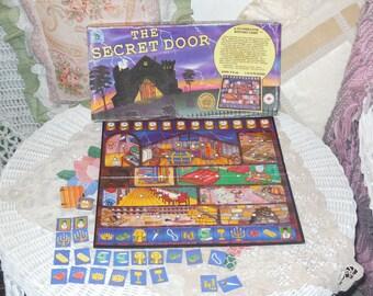 The Secret Door Board game, Vintage Board Games, Games.Game Night, :)S