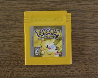 Pokemon Yellow | Gameboy Game | For Nintendo Gameboy | Pokemon Special Pikachu Edition