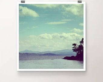 Sfumato - FineArt Print Nature Sea Ocean Summer Water Seaside Island Mountains Ireland
