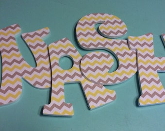 Custom Decorated Wooden Letters - Wash - Laundry Room - Bathroom - Home Decor