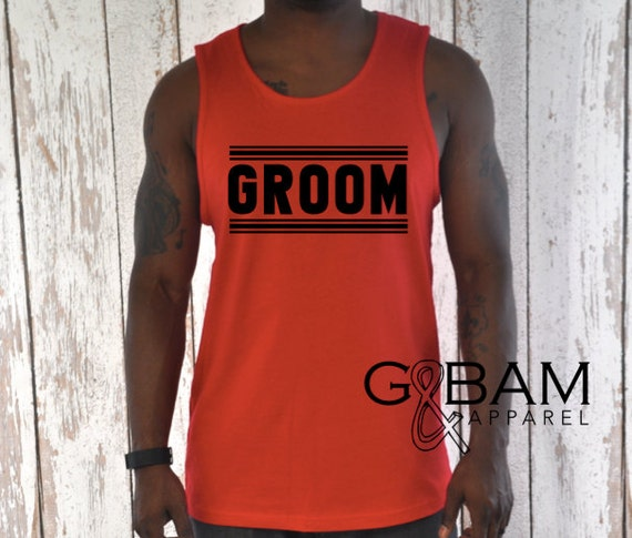 Groom Tank / Hubby tank / Hubby Shirt / Groom shirt / Bachelor Party Tank top