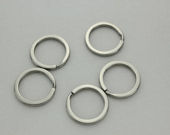 Split Ring Flat Stainless Steel 32mm