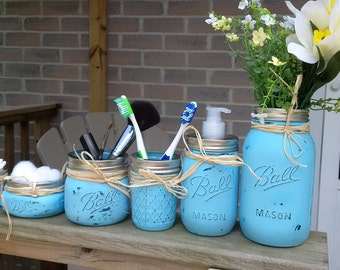 6pc Mason Jar Set