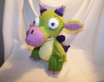 Crochet draco dragon