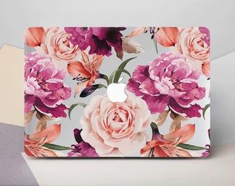 Flowers Macbook Air 11 Case Floral Macbook 12 Cover Case Macbook Pro 13 2016 Mac Pro 15 2017 Case For Macbook Air 13 Macbook Air Case CG2064