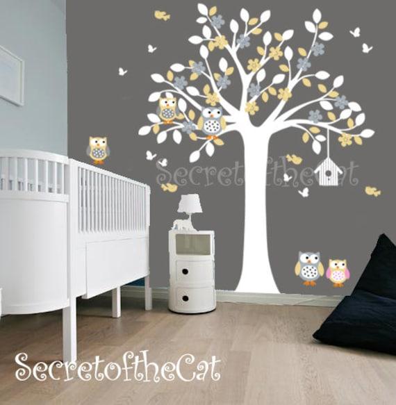 Kinderzimmer wand aufkleber wand aufkleber kinderzimmer baum - Baum kinderzimmer ...