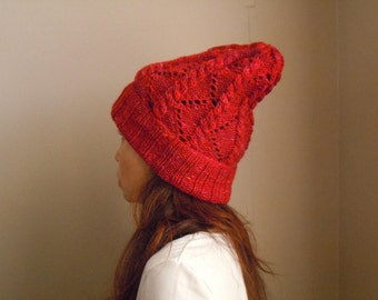 Beanie - Rose red