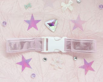 Dreams of Seatbelt Babygirl Holographic Choker