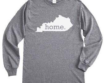 Homeland Tees Kentucky Home Long Sleeve Shirt