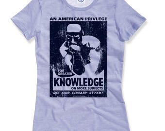 WPA Knowledge/Use Your Library Often Women's Tee