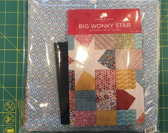 Big Wonky Star Quilt Kit