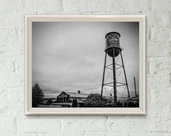 Downtown Franklin Tennessee Factory Water Tower Photo Print