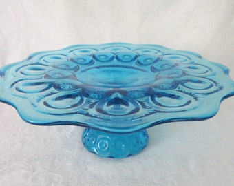 LE Smith Moon & Star Cake Stand