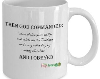 Coffee mug for chocolate lovers