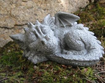 Dragon Statue, Concrete Dragon, Cement Dragons, Garden Dragons, Concrete Statues, Fantasy, Draco, Garden Statues, Garden Decor And Art