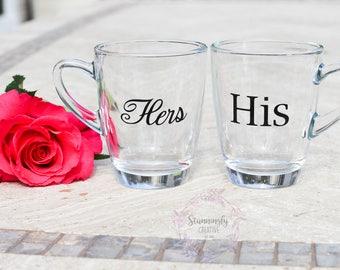 His and Hers Mug Set, His and Hers Mugs, His and Hers, His Hers Mugs, Mug Set, His and Hers Coffee Mugs, Coffee Mug Set, Coffee Mugs, Mugs