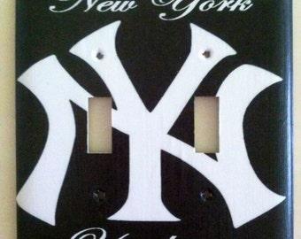 Nueva York Yankees tapa de la placa de interruptor de la luz - decoración para el hogar * elegir cubierta tipo *