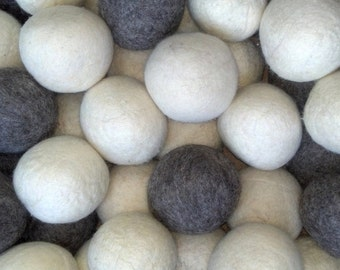 Wholesale Co-op Bulk 100 Wool Dryer Balls  Natural Laundry Softener - Gentle on your Laundry, Skin and Wallet