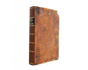 The History of New York - antiquarian leatherbound first edition from 1814