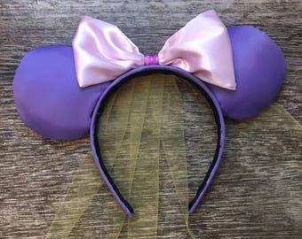 Ready to ship Rapunzel inspired ears || Disney ears || Mickey Minnie Mouse Ears