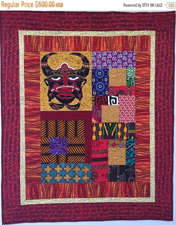 Hello Summer Sale I Am Mad as Hell, 42x52 inch art quilt