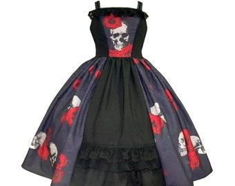 gothic bridal dress gothic lolita jsk gothic lolita dress dark romantic dress plus size dress gothic victorian dress victorian mourning rose
