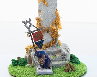 Tabletop Dungeons and Dragons Monolith - Wargaming Terrain, RPG Warhammer, Dungeons and Dragons, Custom, 28mm Terrain, RPG, 40K, Scenery