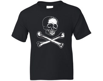 Kids Pirate Shirt - Victorian Skull