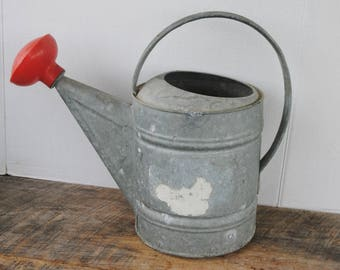 Vintage Galvanized Watering Can No. 8