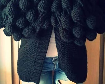 Cardigan with Bubbles