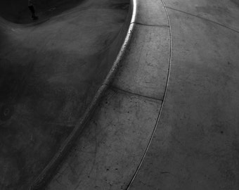"Skateboarding Photo - Pool Coping - 18X24"" Archival Print"