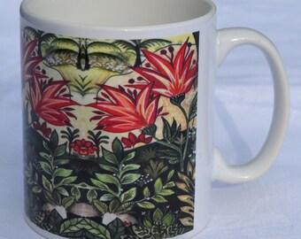 Mug 3. Garden. ceramic mug, tea mug, coffee mug, home gift