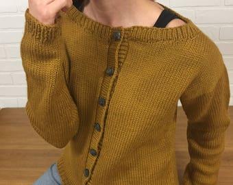 Wool Cardigan/ Sweater