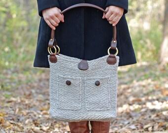 Minnehaha Herringbone Bag - Knitting Pattern