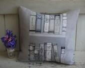 Handmade Cushion - Librar...