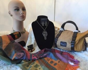 Jewelry Group 3- 8pc Geometric Hobo