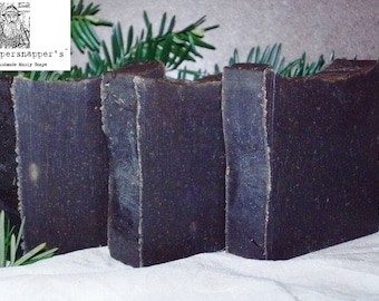 Dandruff Shampoo Bar - Authentic 20% Pine Tar Soap By Old Whippersnapper's Handmade Soaps