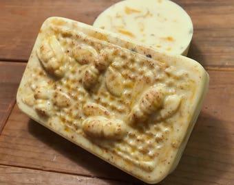 Sweet Orange + Calendula Bee Soap