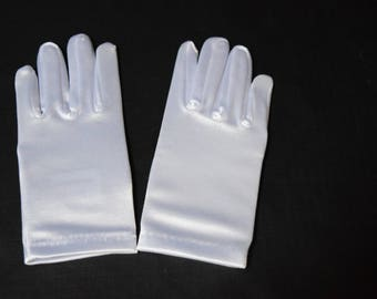 Children's Satin Gloves