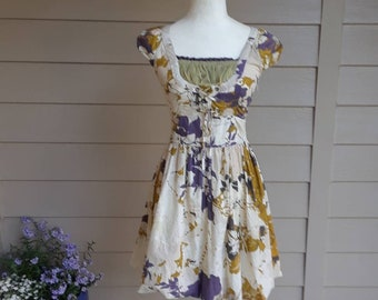 Lovely Cotton Floral Dress