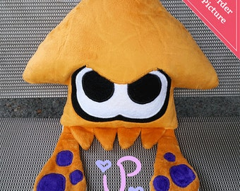 Custom Splatoon Squid Inkling Plushie