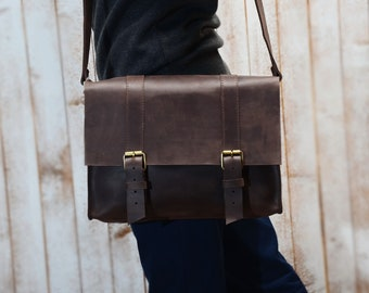 Leather Bag, Leather Messenger Bag, Messenger Bag men, Mens Leather bag, Mens Messenger Bag, Bag for men, Satchel, Portfolio, Briefcase men