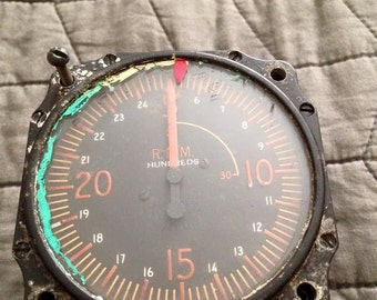 1955 Airplane Tachometer