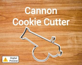 "4"" Cannon Cookie Cutter (Pirate Set)"