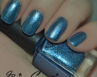 Polar Punch - Blue Metallic Sparkle Nail Polish