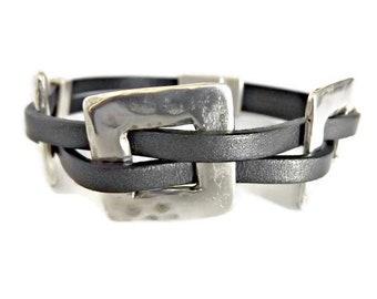 Leather bracelet for women, bracelets for women, leather bracelet, women leather bracelet, beaded bracelet, boho bracelet